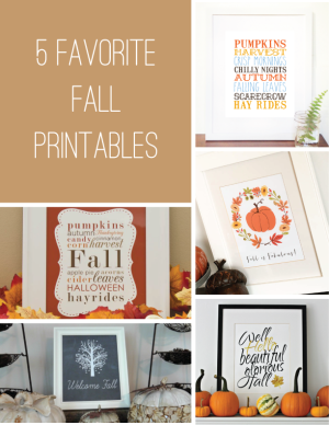 5-Favorite-Fall