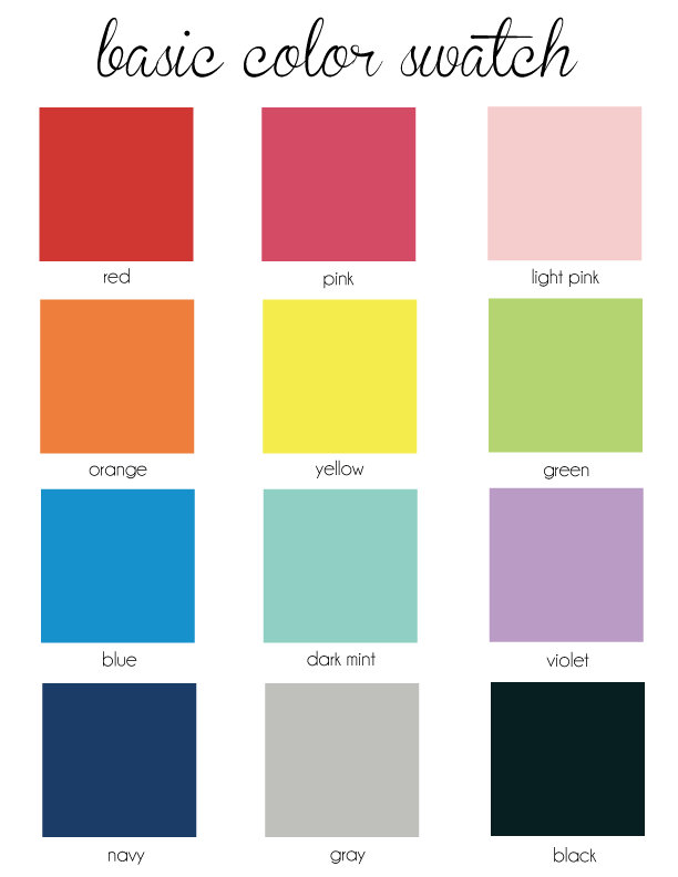 List Of Basic Colors 28 Images List Primary Colors Pictures To Pin On Pinsdaddy