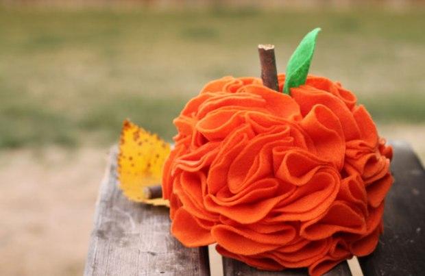 Felt-Pumpkin