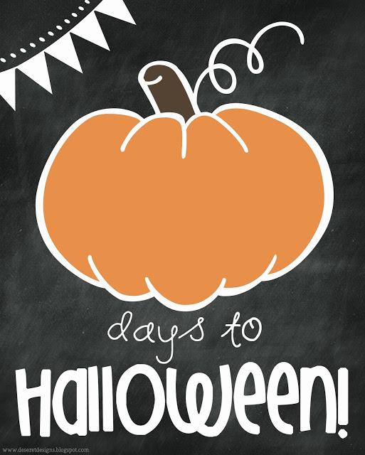 pumpkin halloween countdown