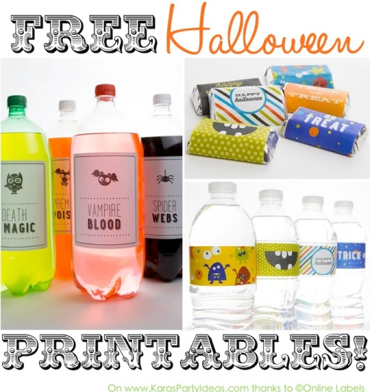 FREE-halloween-party-printables-Drink-labels-candy-bar-wrapperstags-and-more-Via-KarasPartyIdeas.com-halloweenparty-freeprintables-freehalloweenprintables