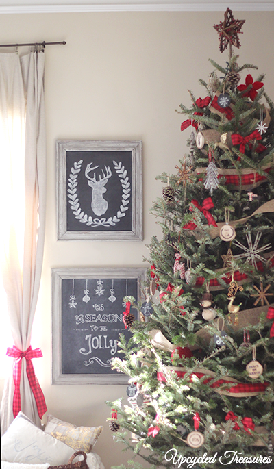 rustic-cabin-inspired-christmas-tree-decor-upcycledtreasures