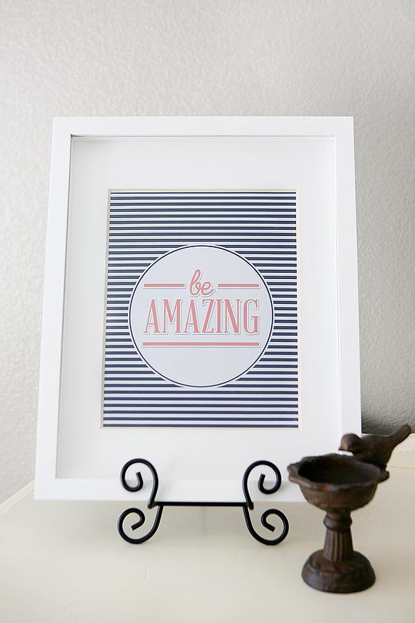 be-amazing-print