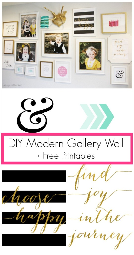 DIY-Modern-Gallery-Wall-+-Free-Printables