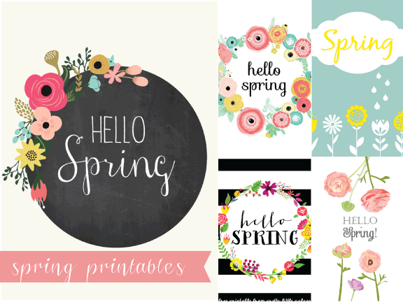 Spring-Printables-Display