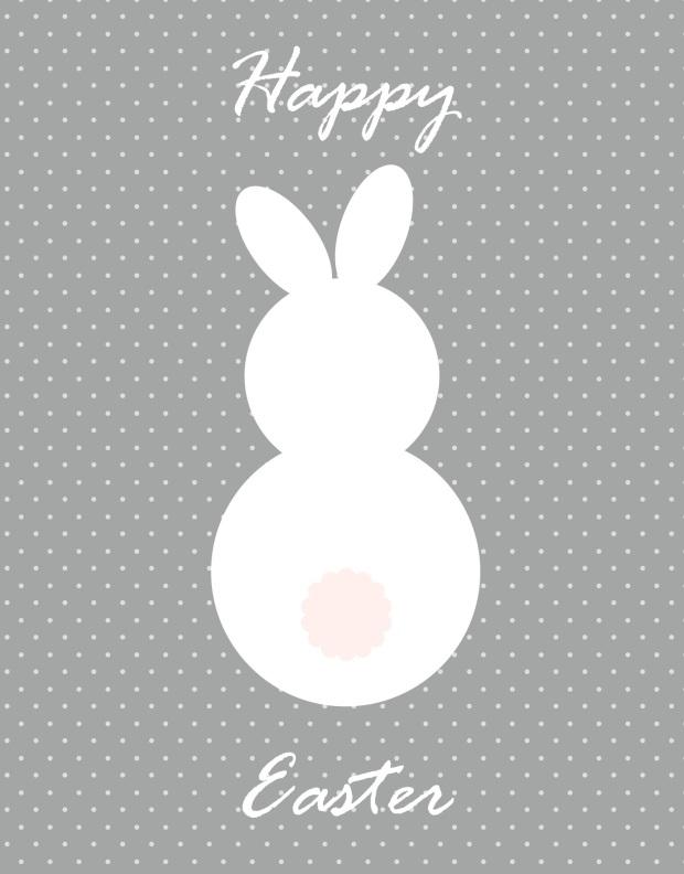 Easter Printable Grey Pink+www.vmg206.blogspot.com