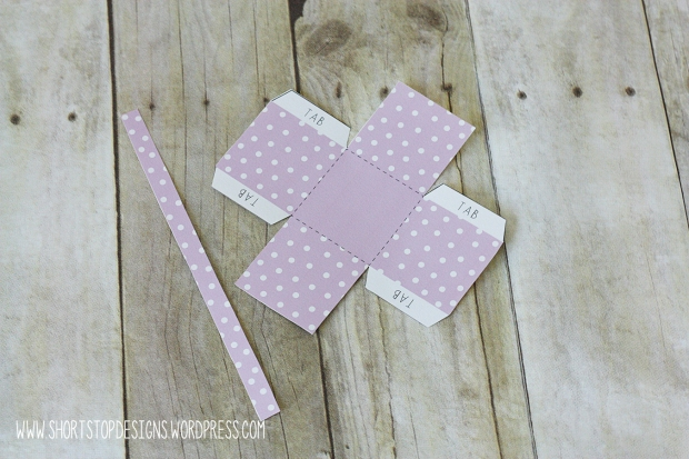 Mini Easter Basket Cut Out