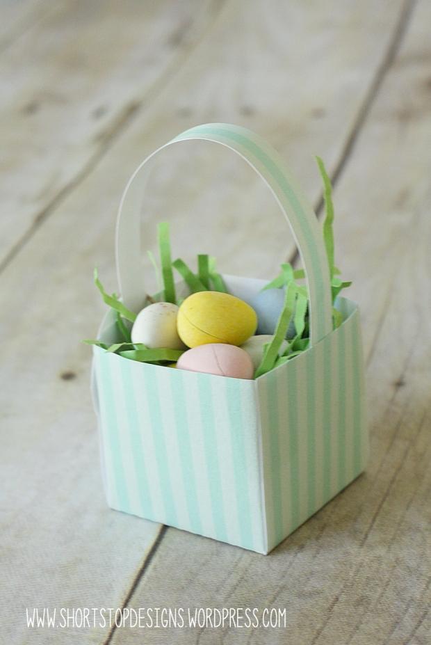 Mini Easter Basket Mint