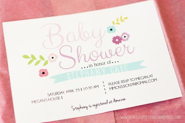 baby shower spring 2