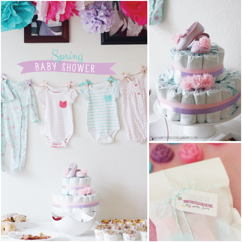 spring baby shower free printables