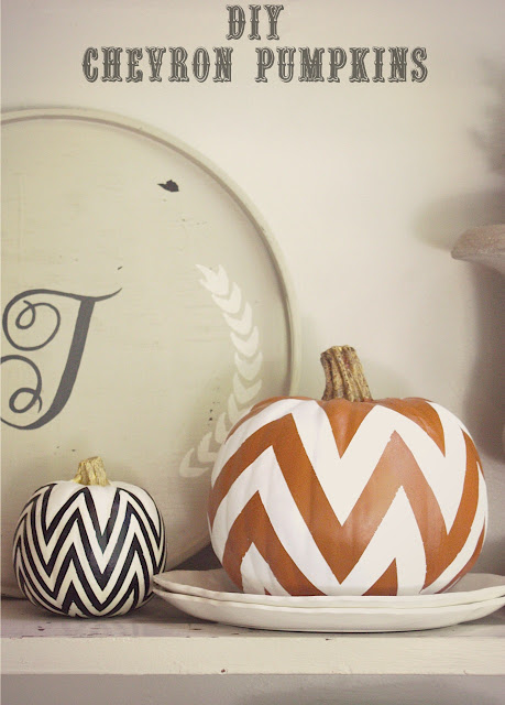 pumpkins chevron done first